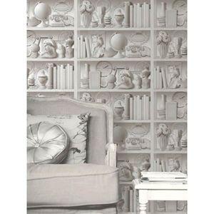 papier peint bibliotheques achat vente papier peint. Black Bedroom Furniture Sets. Home Design Ideas