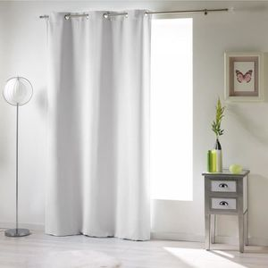 Rideau isolation achat vente rideau isolation pas cher for Rideau occultant 140x240