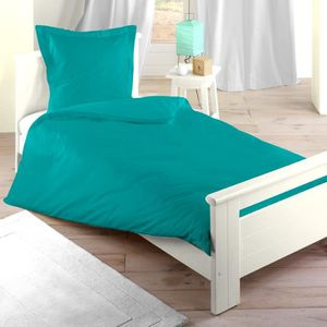 Couette turquoise achat vente couette turquoise pas for Housse couette turquoise