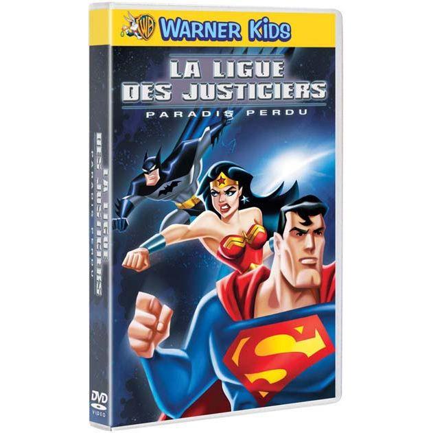 DVD DESSIN ANIMÉ DVD La ligue des justiciers : paradis perdu