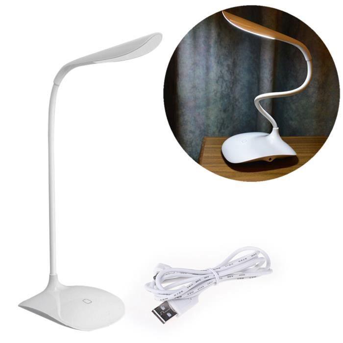 l'usb rechargeable lampe de bureau conduit lampe pour lire ...