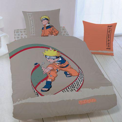 parure de lit naruto hero achat vente parure de couette cdiscount. Black Bedroom Furniture Sets. Home Design Ideas