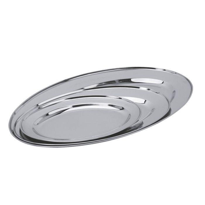 Plats de service inox ustensiles de cuisine for Plat cuisine inox