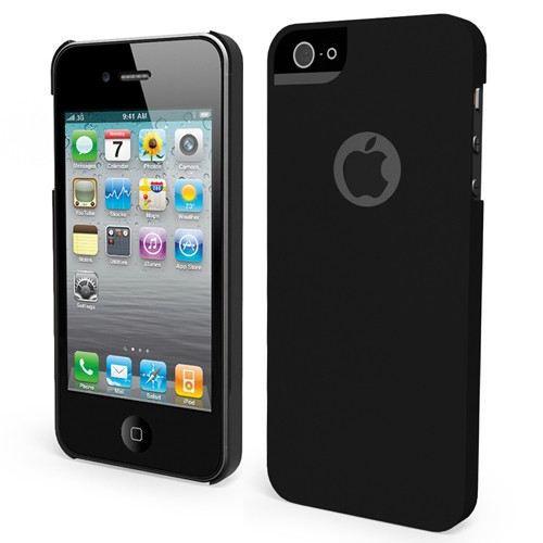 Coque iphone 5 5s achat vente muvit coque noire for Coque cdiscount