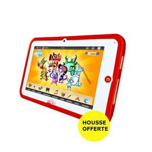 VIDEOJET Tablette Enfant KidsPad 3 + Housse