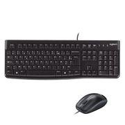 PACK CLAVIER - SOURIS Logitech  pack clavier-souris filaire - MK120