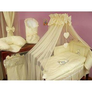 parure lit bebe fille achat vente parure lit bebe fille pas cher soldes cdiscount. Black Bedroom Furniture Sets. Home Design Ideas