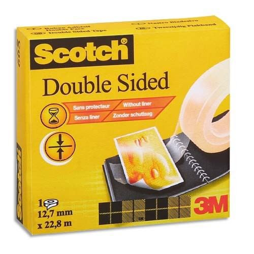 scotch ruban adh sif double face 12mmx33m achat vente ruban adh sif rubn adh fce665. Black Bedroom Furniture Sets. Home Design Ideas