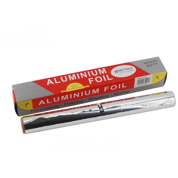 2pieces bobine de papier d 39 aluminium pour cuisson barbecue four canard r ti poisson etc achat. Black Bedroom Furniture Sets. Home Design Ideas