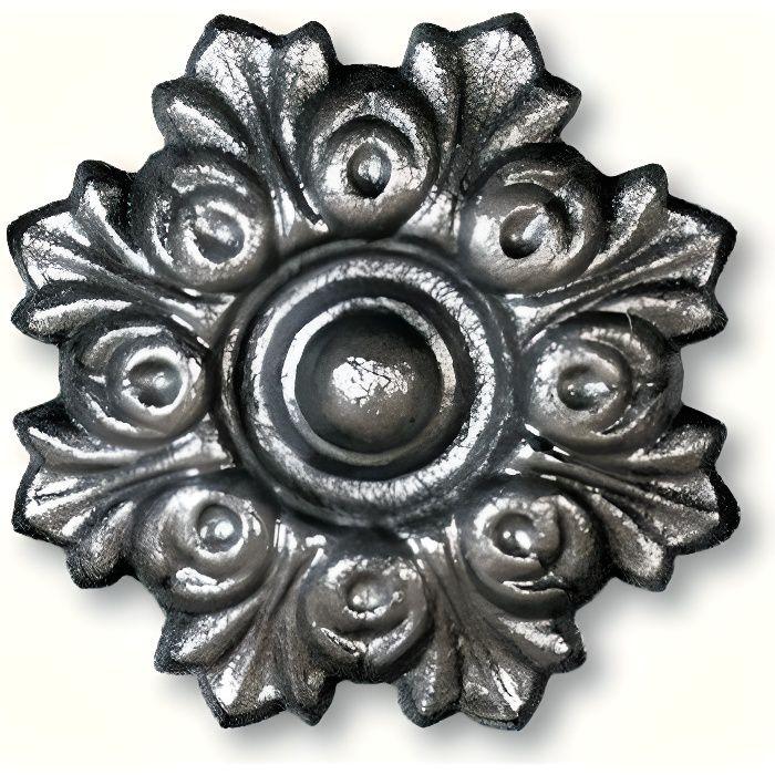 Rosace d coration pour portails portillons achat vente accessoire de port - Decoration pour portail fer ...