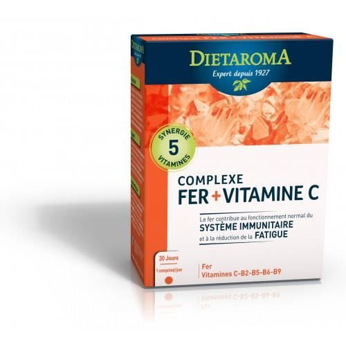 Dietaroma - Complexe Fer cure 1 mois - 30 compr… - Achat
