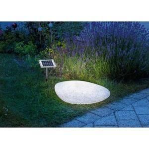 Lampe solaire decorative couleur changeante pierre achat vente d coratio - Lampe couleur changeante ...