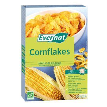 evernat cornflakes sans sucre 375g achat vente c r ales petit dej evernat cornflakes sans. Black Bedroom Furniture Sets. Home Design Ideas