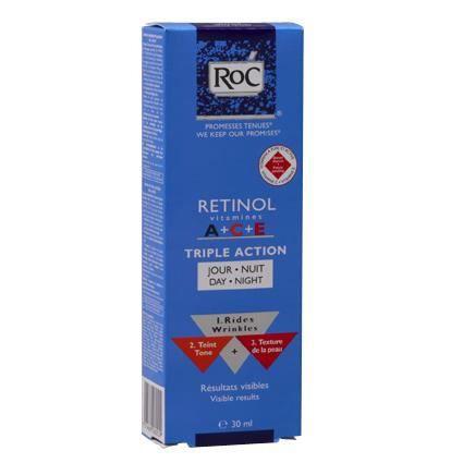 ROC Crème Retinol Vitamine ACE Premières Rides … - Achat