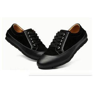 chaussure de ville homme nubuck noir achat vente pas cher cdiscount. Black Bedroom Furniture Sets. Home Design Ideas