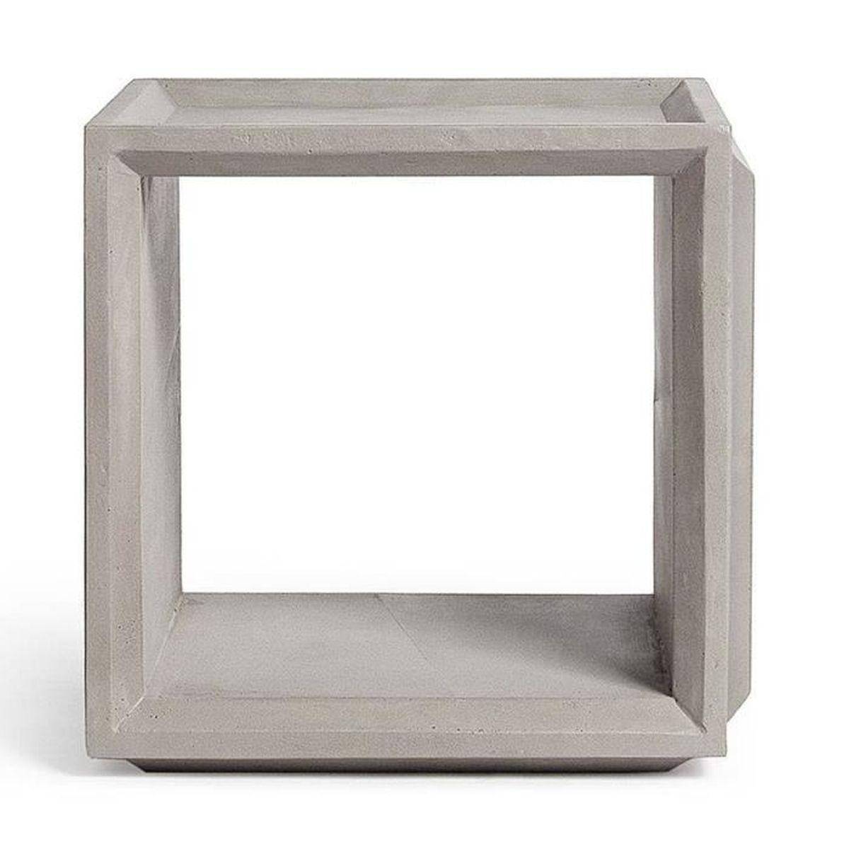 module de rangement cube b ton plus s couleur gris b ton. Black Bedroom Furniture Sets. Home Design Ideas