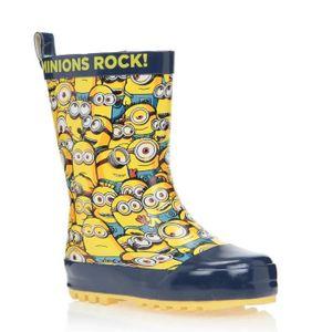 LES MINIONS Bottes de pluie Chaussures Enfant Garçon