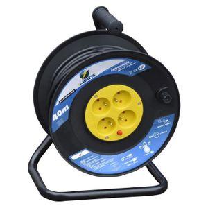 I-WATTS Enrouleur électrique 40m 4 prises