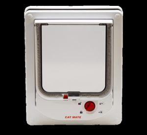 PET MATE Chati?re électronique 254W - Blanc - Pour chat