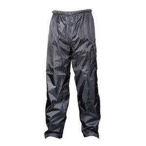 VETEMENT BAS TBC Pantalon Pluie Polyester Noir