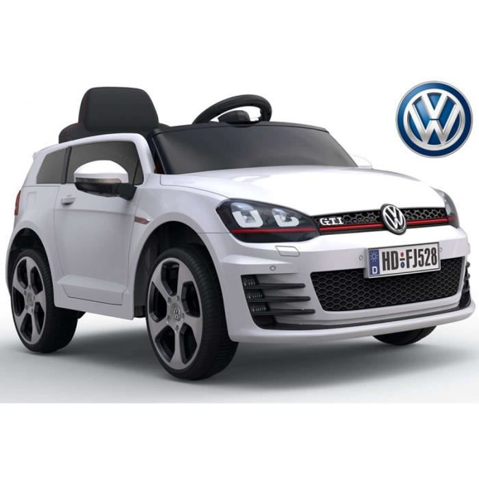 v hicule enfants voiture lectrique vw golf gti 7 achat. Black Bedroom Furniture Sets. Home Design Ideas