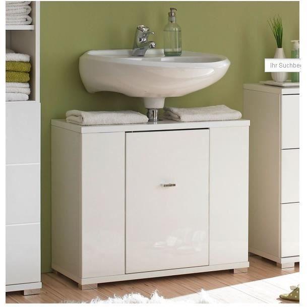 meuble sous lavabo blanc haute qualit design achat vente meuble vasque plan meuble sous. Black Bedroom Furniture Sets. Home Design Ideas