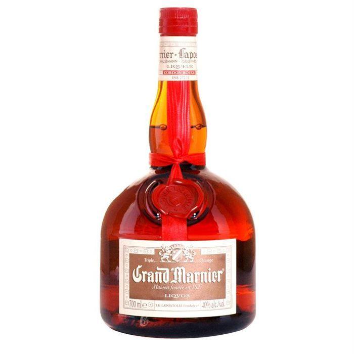 bouteille de grand marnier rouge 70cl 40 achat vente liqueur grand marnier rouge 70cl 40. Black Bedroom Furniture Sets. Home Design Ideas
