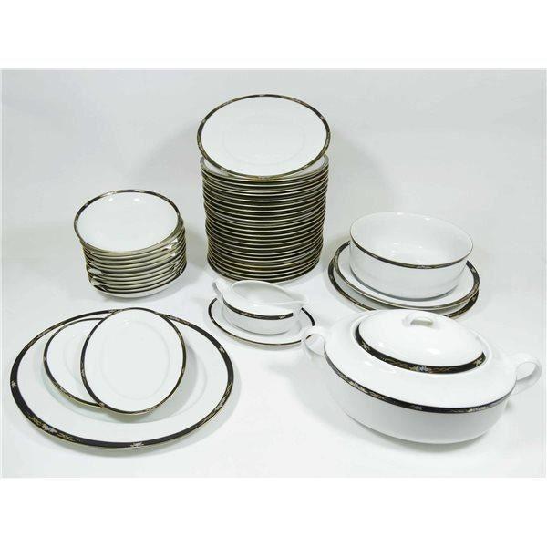 Recevez vos convives en mettant les petits plats dans les grands avec ce se - Vaisselle en porcelaine ...