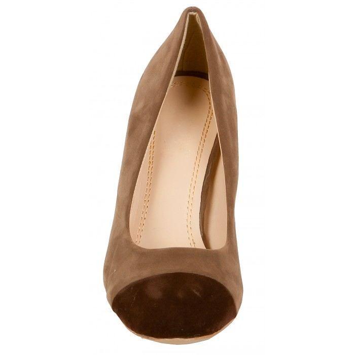 Chaussures femme en daim bicolor achat vente - Laver chaussure en daim ...