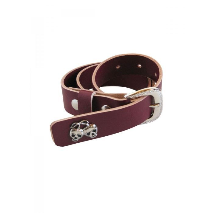 ceinture cuir rouge lie de vin l rouge achat vente ceinture et boucle ceinture cuir rouge. Black Bedroom Furniture Sets. Home Design Ideas