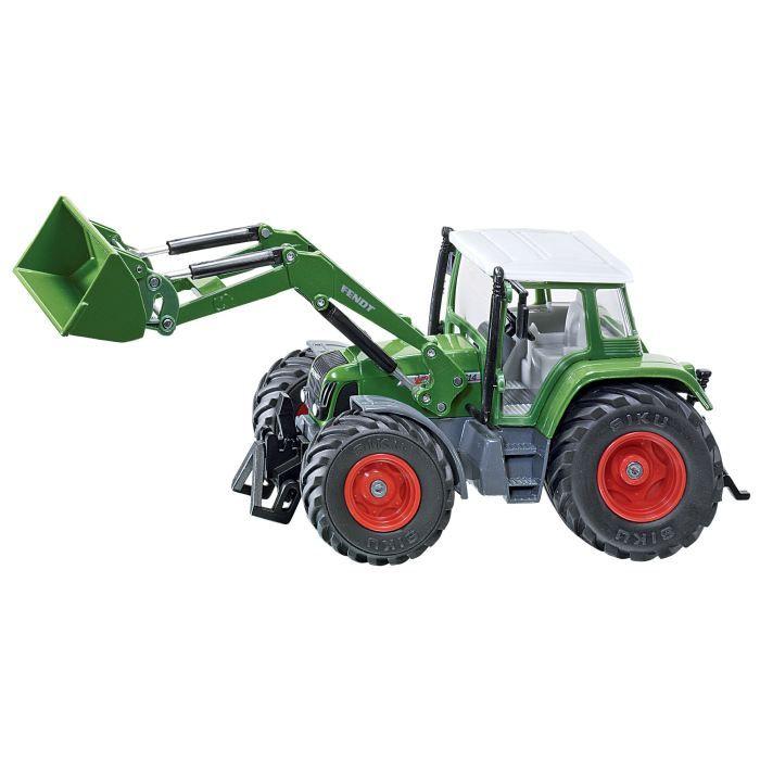 voiture construire tracteur fendt 712 avec chargeur sikufarmer 132
