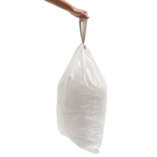 sacs poubelle simplehuman 55 l code u achat vente sac poubelle sacs poubelle simplehuman 5. Black Bedroom Furniture Sets. Home Design Ideas