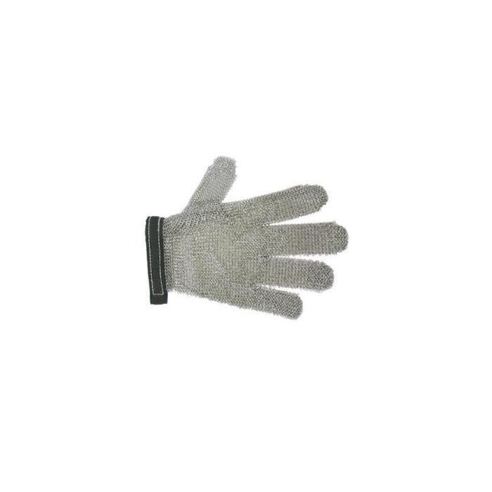 gant cotte de maille taille l inox tellier achat vente protection des doigts gant cotte. Black Bedroom Furniture Sets. Home Design Ideas
