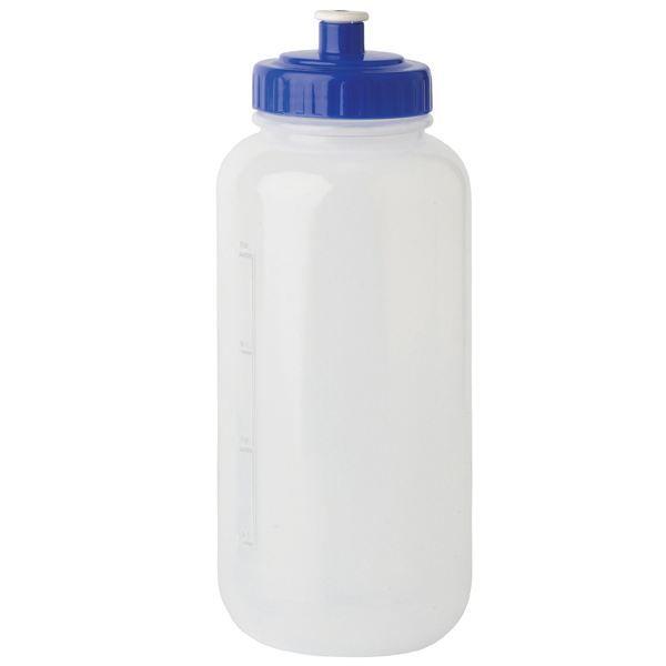 GOURDE Bouteille en plastique avec large goulot 100 ml