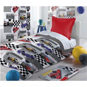 couvre lit enfant achat vente couvre lit enfant pas cher cdiscount. Black Bedroom Furniture Sets. Home Design Ideas