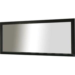 Miroir 180 cm achat vente miroir 180 cm pas cher for Miroir salle de bain cadre noir