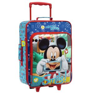 sac a roulette mickey achat vente sac a roulette mickey pas cher cdiscount. Black Bedroom Furniture Sets. Home Design Ideas