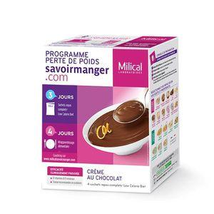 DESSERT MINCEUR Lcd crème au chocolat 4 sachets