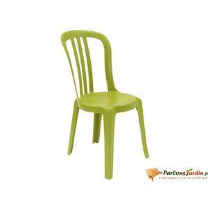 Fauteuil jardin resine vert achat vente fauteuil jardin resine vert pas cher cdiscount - Chaise empilable pas cher ...