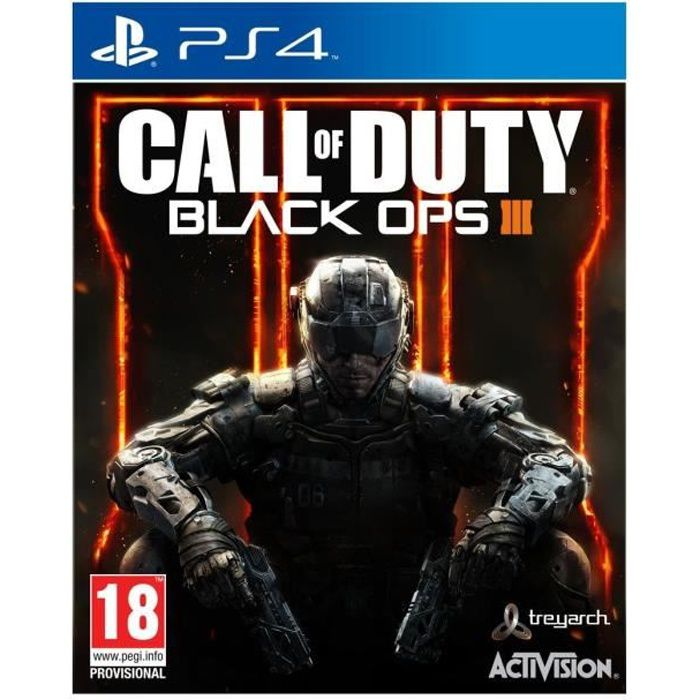 jeux pc video console ps call of duty black ops iii jeu f