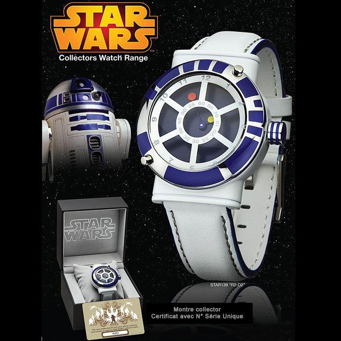 montre star wars r2d2 collector montre geek de blanc achat vente montre cdiscount
