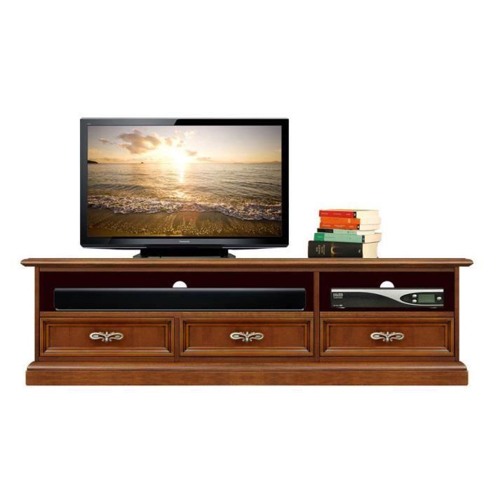 Meuble tv barre de son 3 tiroirs achat vente meuble tv - Meuble tv avec barre de son ...