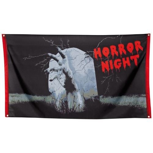 Banderole de d coration nuit d 39 horreur main de achat for Decoration maison horreur