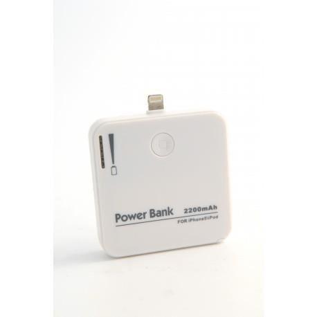 batterie externe blanc pour apple iphone 5 5s 5c 6. Black Bedroom Furniture Sets. Home Design Ideas
