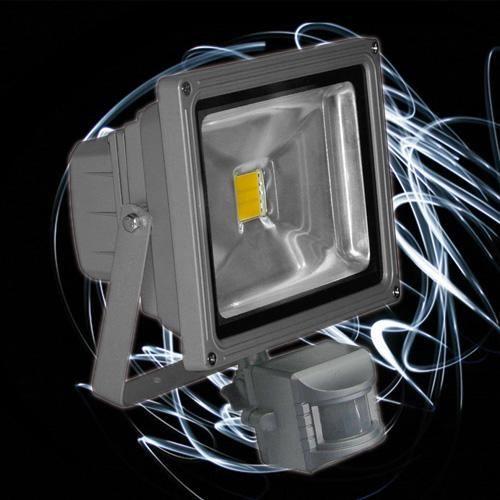 Projecteur led 20w blanc froid d tecteur mouvement achat for Projecteur avec detecteur de mouvement