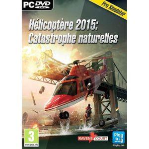 JEU PC Helicoptère 2015 : Catastrophes Naturelles Jeu PC