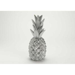 Deco ananas for Ananas deco argent