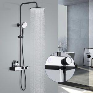 colonne douche noire achat vente colonne douche noire pas cher cdiscount. Black Bedroom Furniture Sets. Home Design Ideas