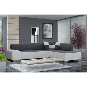 canape d angle moderne achat vente canape d angle moderne pas cher cdiscount. Black Bedroom Furniture Sets. Home Design Ideas