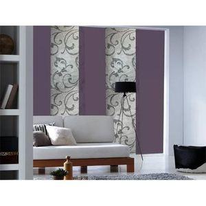 panneau japonais achat vente panneau japonais pas cher cdiscount. Black Bedroom Furniture Sets. Home Design Ideas
